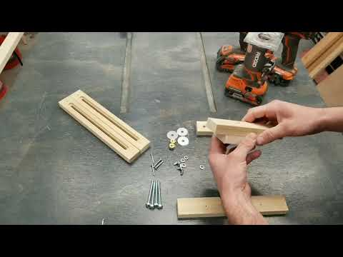Growth Chart Router Jig