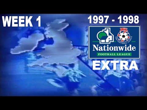 NATIONWIDE FOOTBALL LEAGUE EXTRA  | 1997-1998 WEEK 1