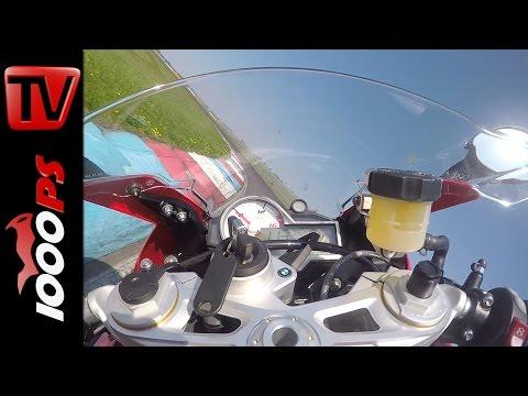BMW S 1000 RR Onboard | Superbike Vergleichstest 2015