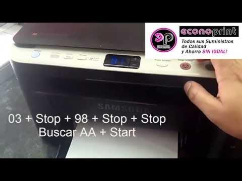 Cómo Acceder Al CRUM Serial Y VErsión De La SCX3200 Para Reprogramarla