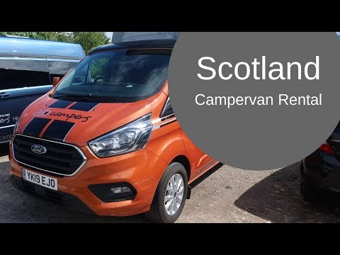 Campervan Rental In Scotland - What's Included?