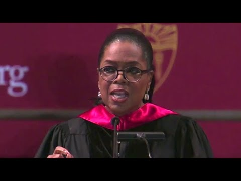 Oprah Winfrey's words of wisdom at USC commencement