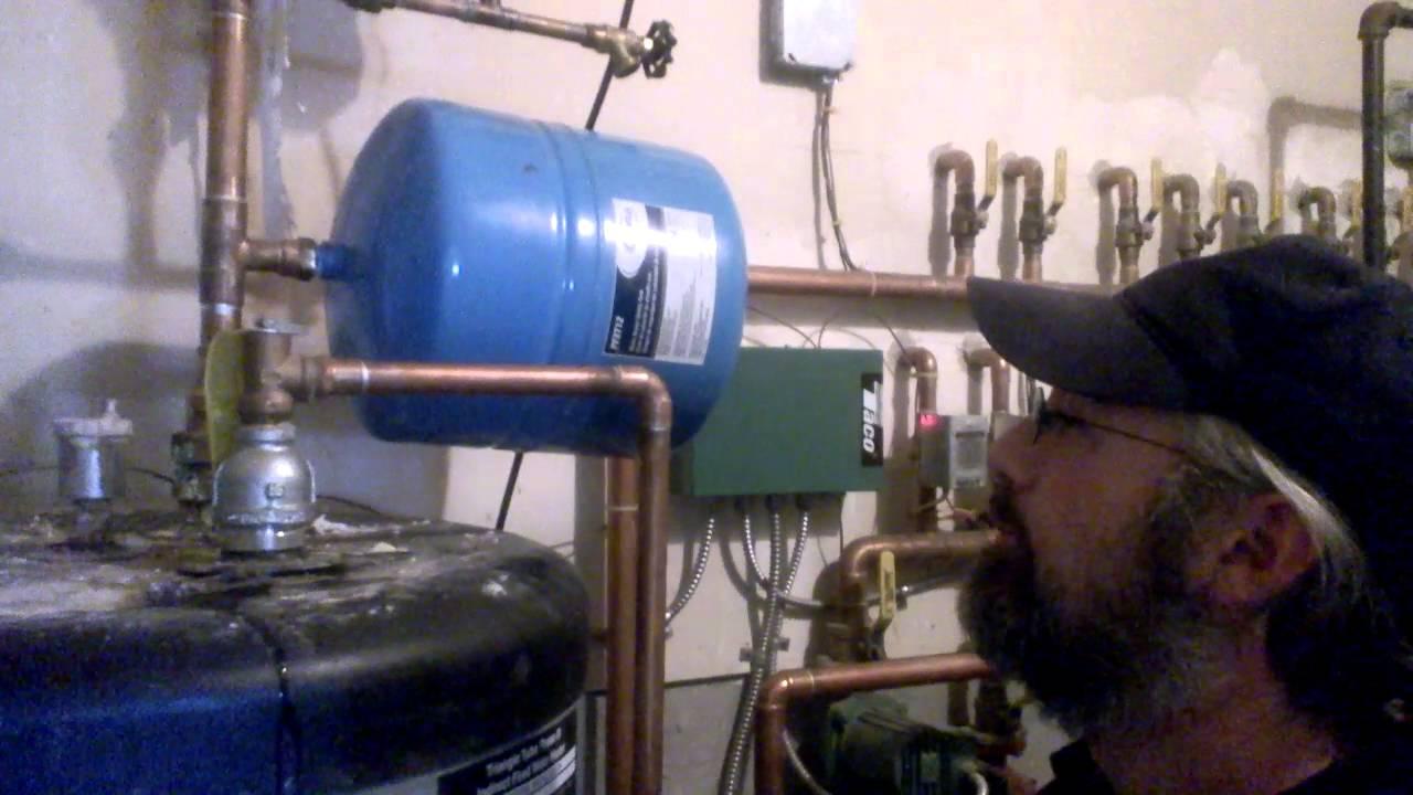 Sidearm tank for hot water - YouTube