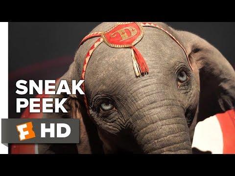 VIDEO: Dumbo Sneak Peek (2019) | Movieclips Trailers