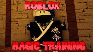 Two Tricks In Magic Training! Roblox