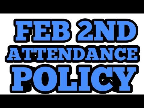 WALMART ATTENDANCE POLICY FEB 2ND YALL