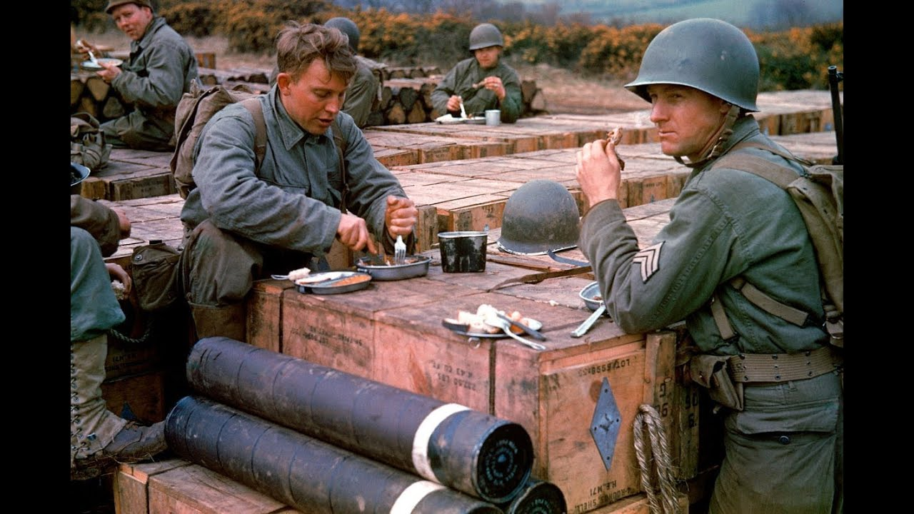 D Day Invasion Color D-Day in Colour (FULL)...