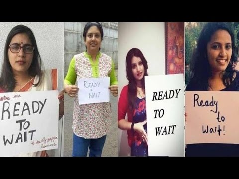 #ReadyToWait - Women Devotees Counter Campaign for Entry to Sabarimala