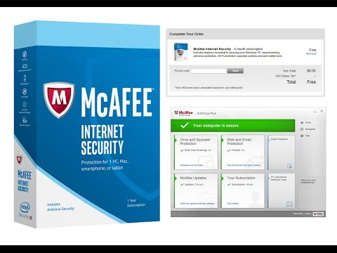 McAfee Internet Security 2017 Licence Key is Here! | TKW