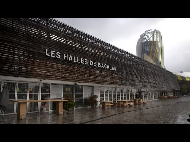Les halles de Bacalan à Bordeaux