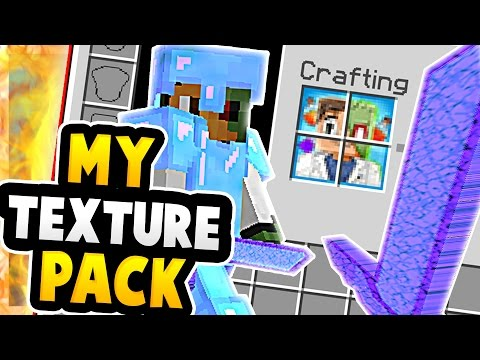 MY TEXTURE PACK RELEASE! | (Minecraft Prison Server)