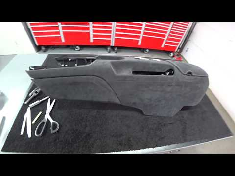Shelby GT350 & Shelby GT350R Custom Alcantara Consoles