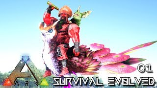 ARK: SURVIVAL EVOLVED - NEW EPIC JOURNEY BEGINS | PUGNACIA DINOS EBENUS ASTRUM E01
