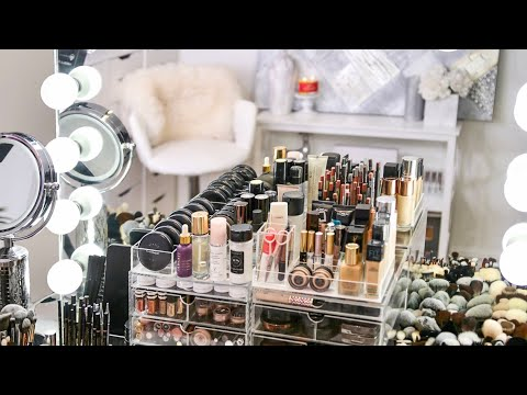 My Makeup Collection & Organization 2018 | RositaApplebum