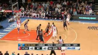 Utah Jazz vs New York Knicks - March 9, 2013
