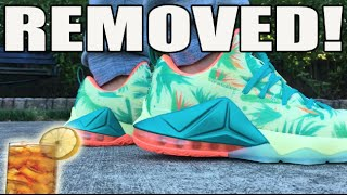 """Lebronold Palmer"" Cage / Skin Removed! (Lebron 12 Low Custom Tutorial)"