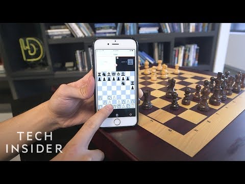 Chessboard That Moves Pieces On Its Own