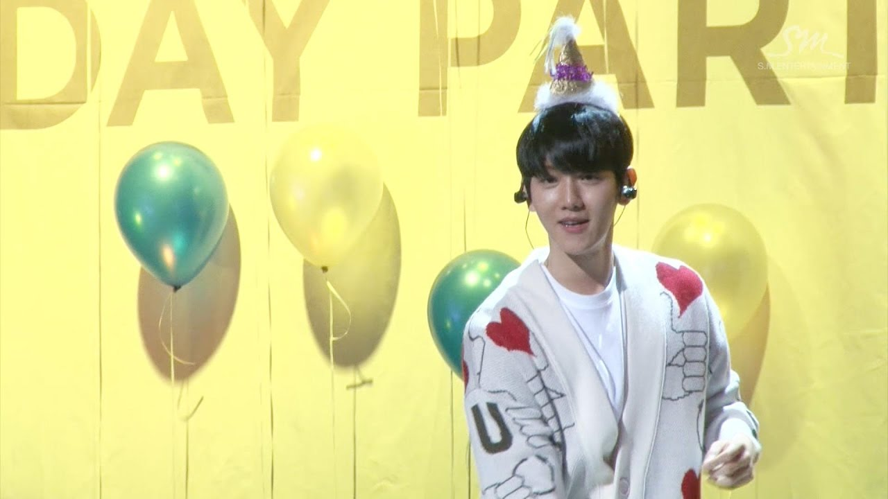 Hey Mama MV EVENT EXO BAEKHYUN BIRTHDAY PARTY HIGHLIGHT YouTube