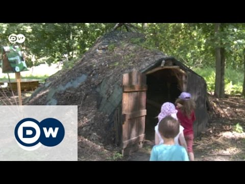 German outdoor preschool among the trees | Global 3000