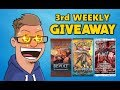 [CLOSED] Weekly Giveaway #3 - FREE BOOSTER PACKS!