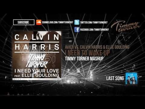 Avicii vs. Calvin Harris & Ellie Goulding - I Need to Wake Up (Timmy Turner Mashup)
