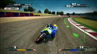MotoGP 09/10 PlayStation 3 Gameplay - Career Pt. 2