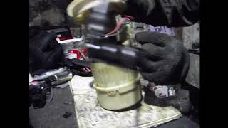 замена бензонасоса на форд фокус C MAX или как снять бензобак