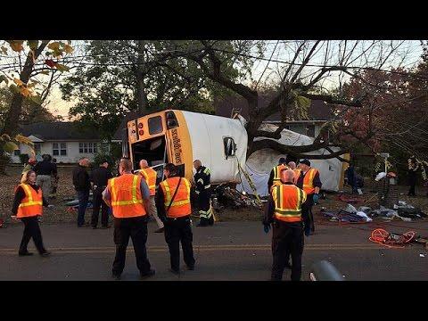 tennessee accident mortel d 39 un bus scolaire youtube. Black Bedroom Furniture Sets. Home Design Ideas