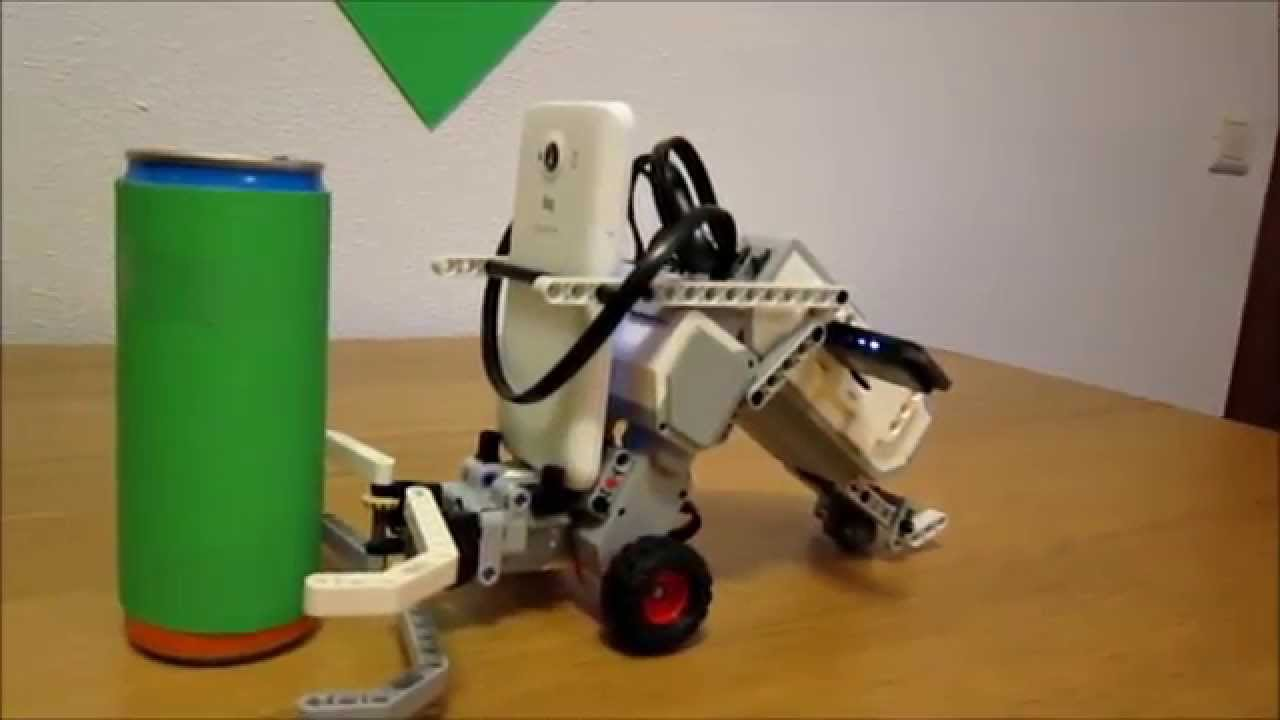 Camera Lego Mindstorm : Mobile image processing with lego ev robot and smartphone android