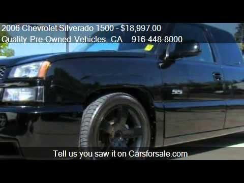 2006 chevrolet silverado 1500 ss ext cab for sale in rose youtube. Black Bedroom Furniture Sets. Home Design Ideas