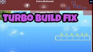 Comment corriger turbo build glitch - Fortnite tutoriel mobile