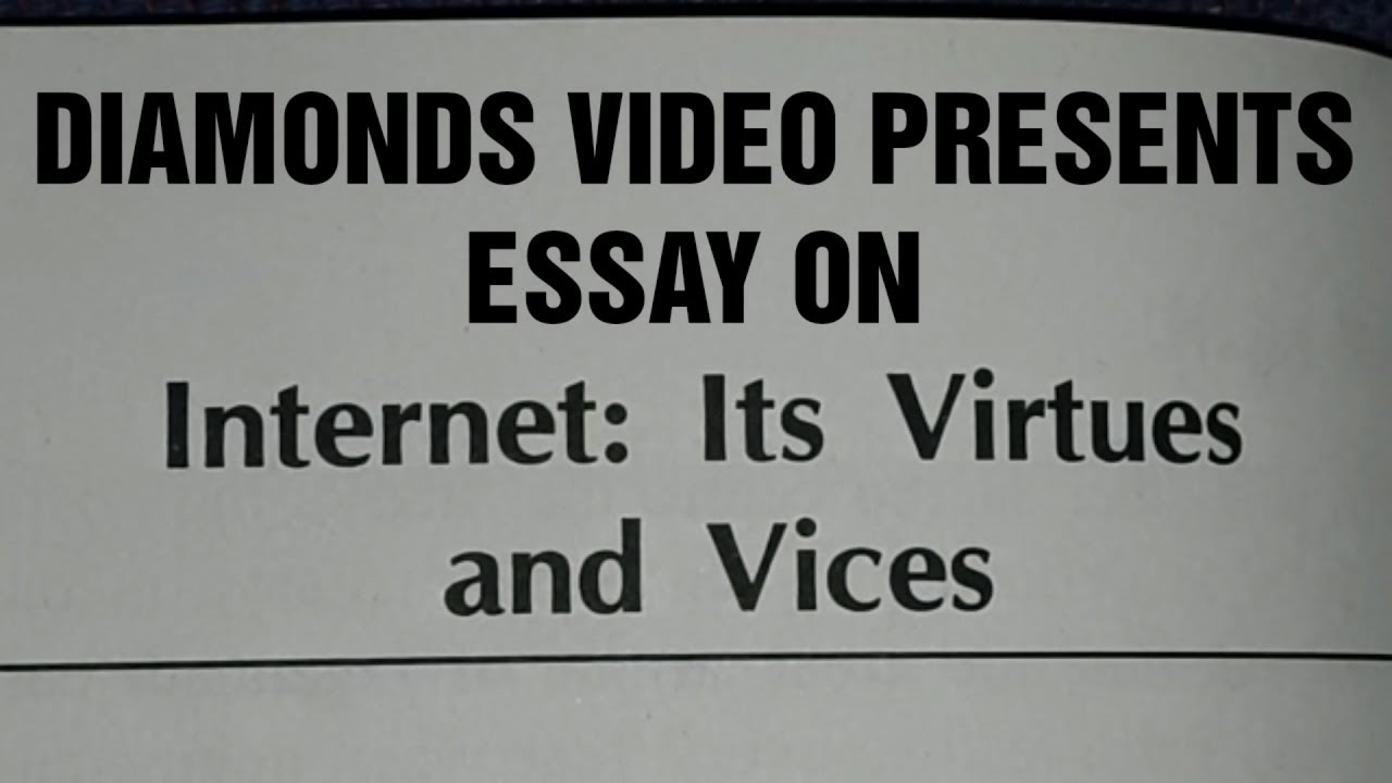 vices essay