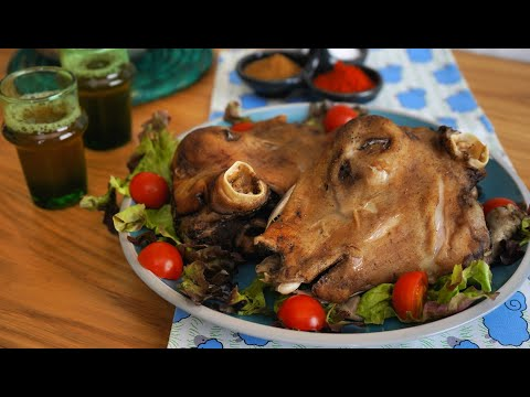 738- Lamb Head / رأس خروف - Cooking with Alia