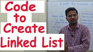 Code zu erstellen, die eine Verknüpfte Liste in C-Programmierung Daten Strucutres