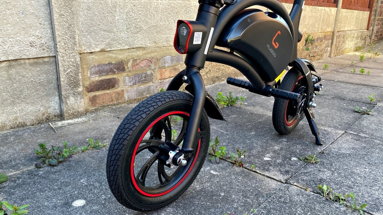 KUGOO Kirin B1 Pure Electric Bike / 250W Motor / 12