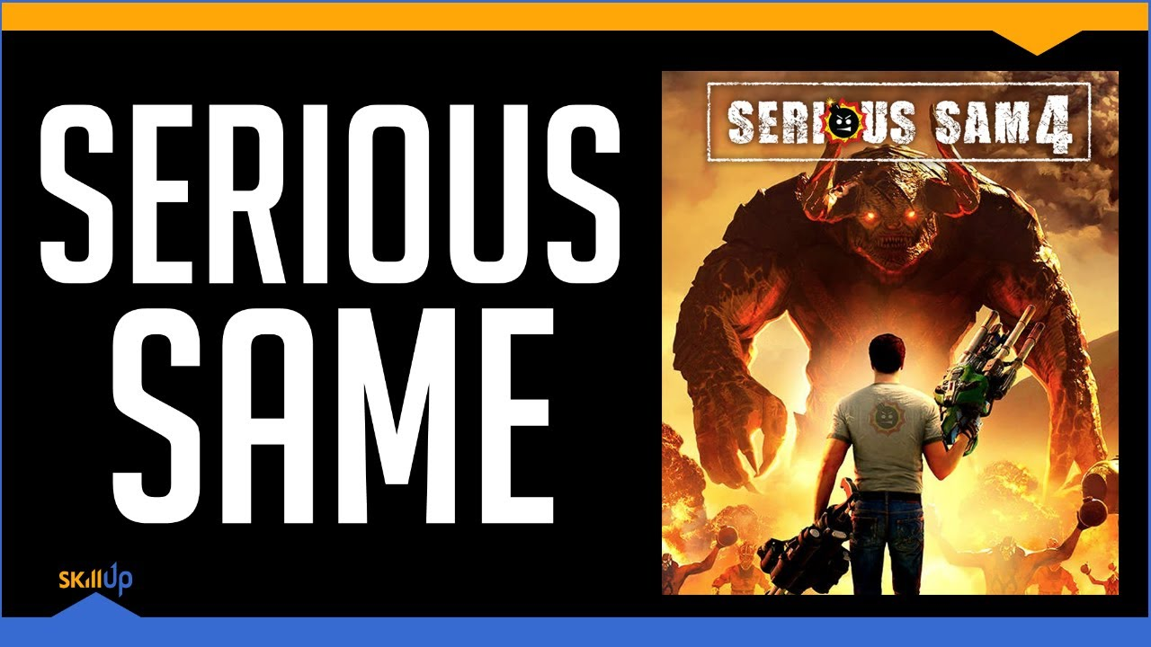 Serious Sam 4 Is A Bad Trip Down Memory Lane (Review)