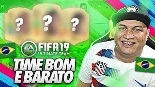 FIFA 19 - TIME BOM E BARATO PARA O FIFA 19 ULTIMATE TEAM! 😱💰