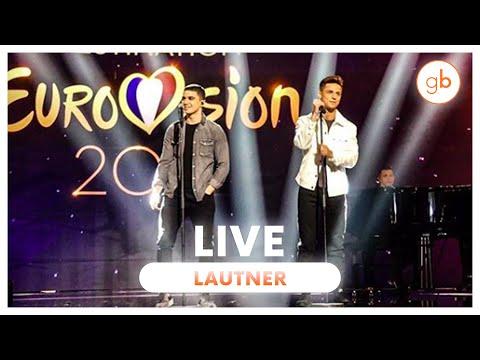 LAUTNER (DESTINATION EUROVISION) - J'AI PAS LE TEMPS (LIVE)