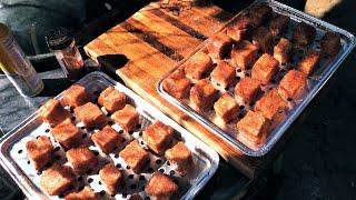 Pork Belly Burnt Ends on WSM