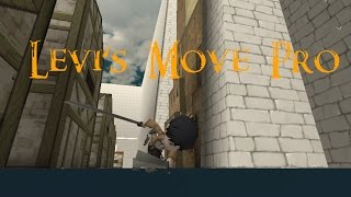 Levi's Move Pro! (Attack on Titan Tribute Game)