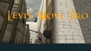 Levi's Move Pro! (Attack on Titan Tribute Game)