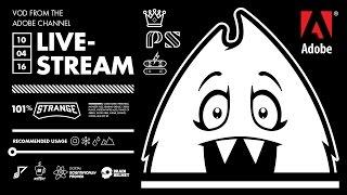 Emblem+Icon+Logo Art Mashup on the Adobe LiveStream - 10/04/16