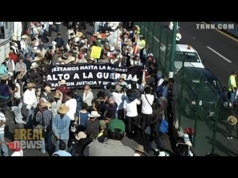 Mexican Drug War Victims Denounce US Complicity