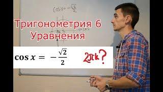 Тригонометрия 6. Простейшие уравнения - easy?