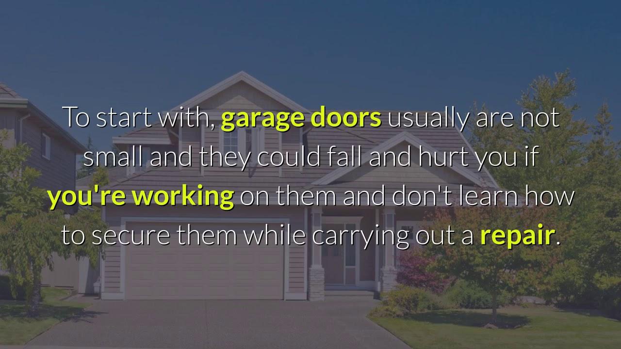 Accurate Garage Door Repair Evanston IL - YouTube