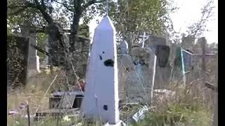 Кладбище после попадания снаряда Красный Луч Луганская область(, 2016-03-27T19:34:36.000Z)