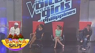 The Voice of the Philippines in Banana Split