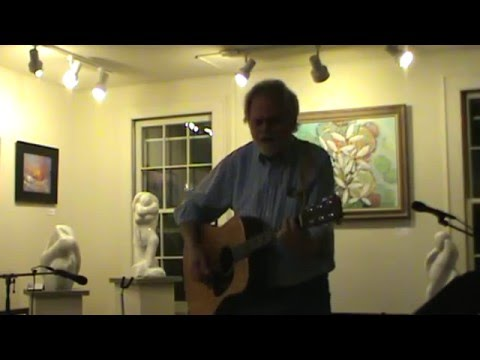 Eric Garrison is shown on this YouTube video at an open mic event at the Artists' Collective of Hyde Park March 10.