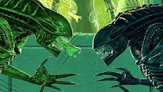 Aliens Versus Predator: Extinction - A4 - Bio-Engineered Aliens