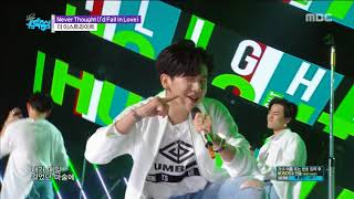 [HOT] TheEastLight - Never Thought (I'd Fall In Love) Show Music core 20180623